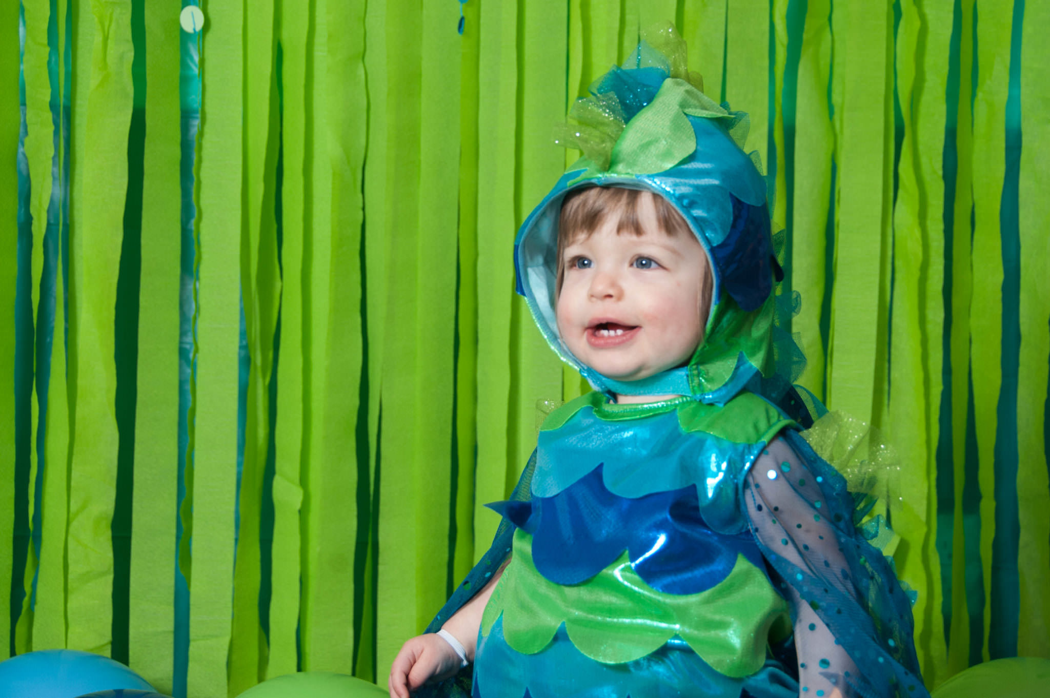 one year old in fish costume, Child Photography 48167, Metro Detroit Child Photographer
