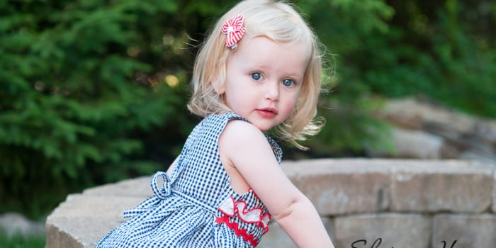 young blonde girl with blue eyes, Northville Child Photographer