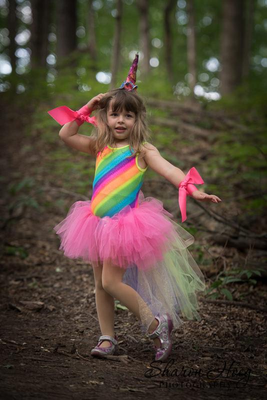 Unicorn girl, Metro Detroit Child Photography