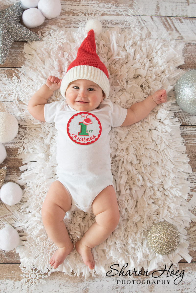 Baby's first christmas photo, Northville Holiday Mini Sessions