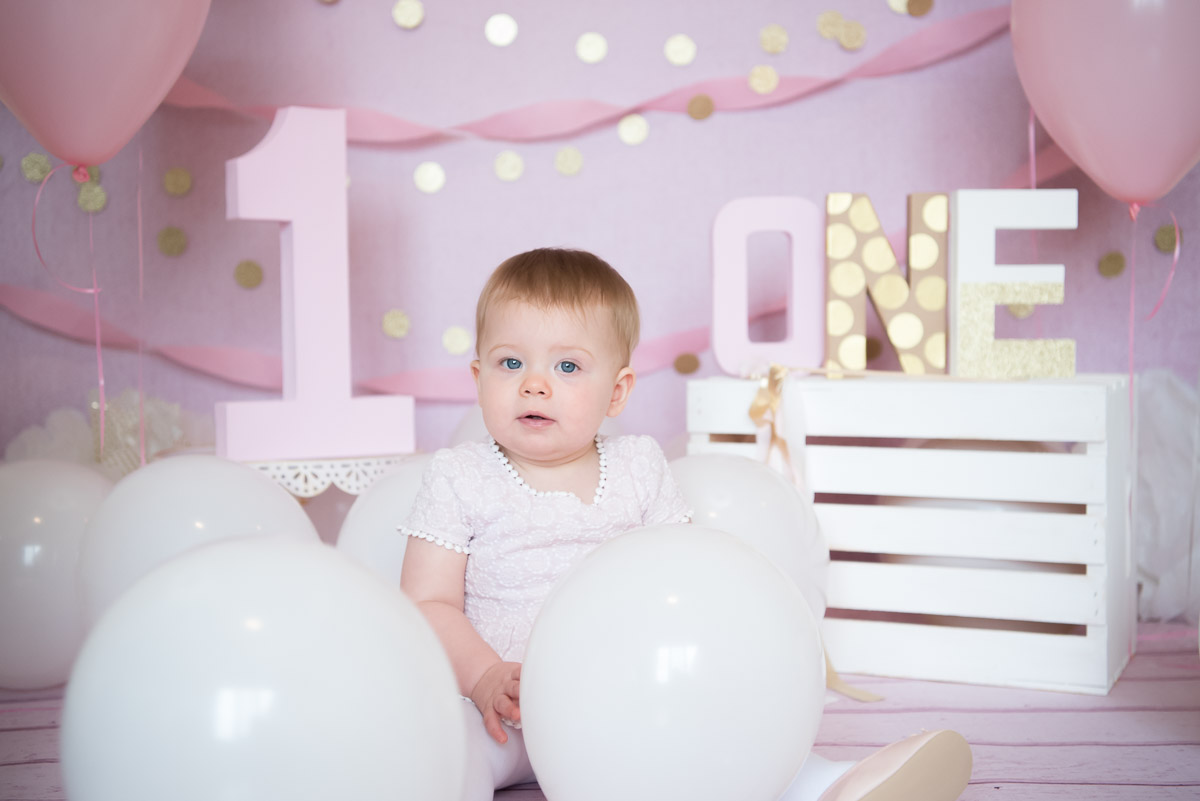 one-year-birthday photo session, Novi Photographer