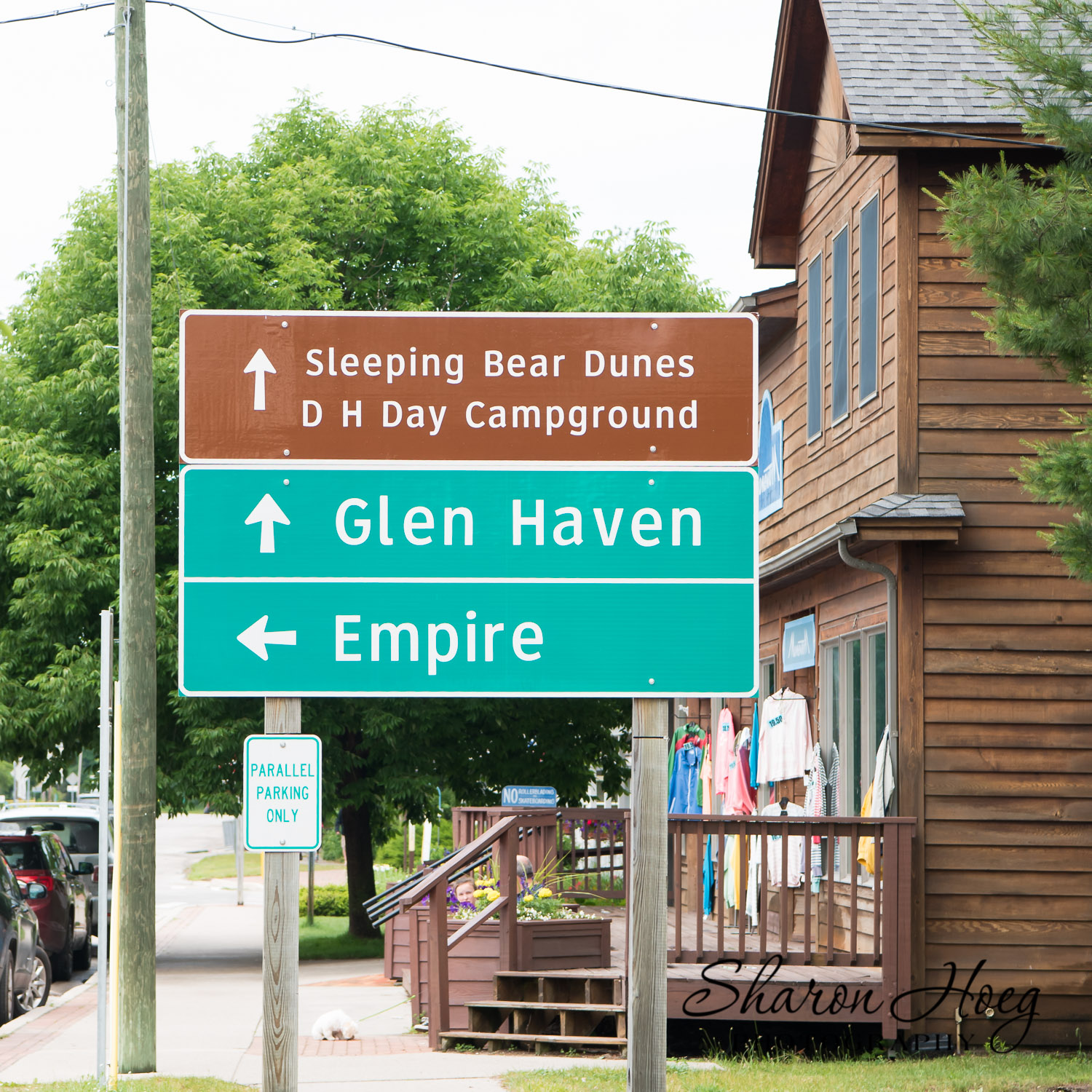 Glen Haven Empire Road Sign