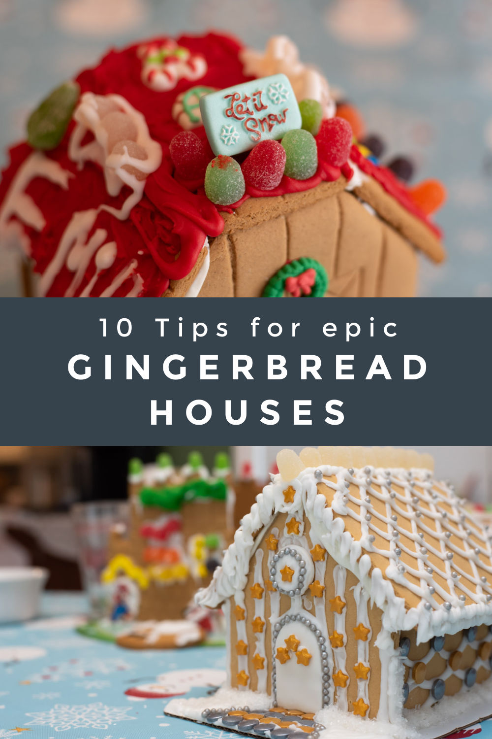 Tips Gingerbread House kits